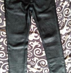 Pantaloni izolati din fleece