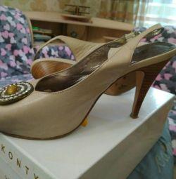 Туфлі шкіра р 36