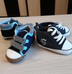 άνετα παπούτσια μωρών