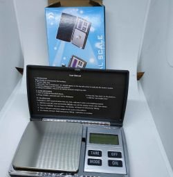 Scales up to 100 g up to 0.01 g, jewelry, packaging