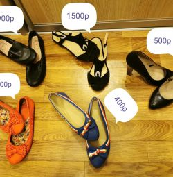 Ballet shoes, sandals, shoes. 38 and 39 size 😍