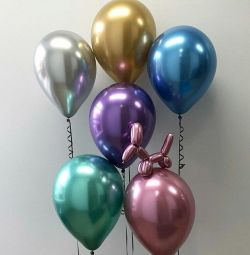 mirror balls chrome