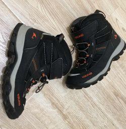 Зимние ботинки Viking, р. 32 (20,3 см)
