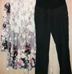 Rochie și pantaloni pentru gravide