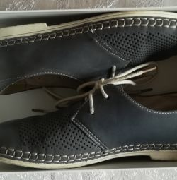Shoes genuine leather, r-38