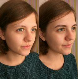 Kaşların düzeltilmesi ve boyanması