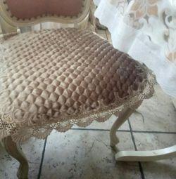 Роскошные сидушки на стулья Blumarine новые 👑