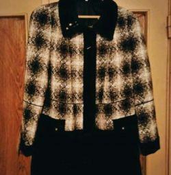 Новое пальто осенние на 58-60 размер