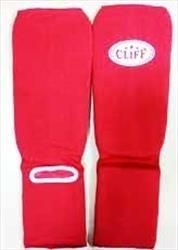 Shin-foot protection cotton, red, Cl-315 CliFF