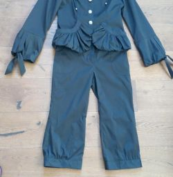 Suit (jacket and breeches)