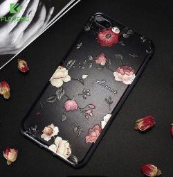 Прорезиненный чехол для iPhone 7