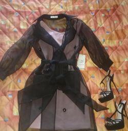 Платье+кейп