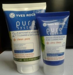 Pure System Cleansing Gel Yves Rocher