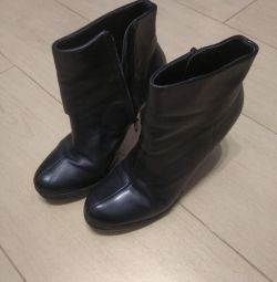 Boots leather ankle boots autumn 38r. Chester