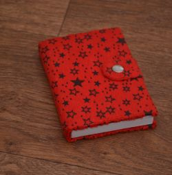 Small Notebook with Soft Cover