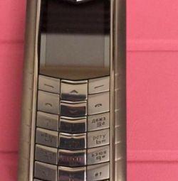 Vertu ροζ Ascent πρωτότυπο