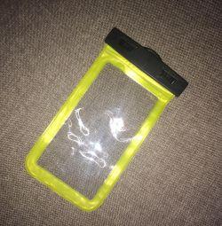 telefon caz și trage sub apă noi