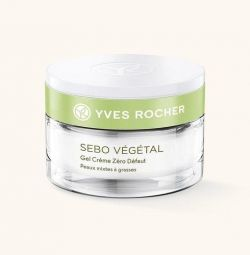 "Crema Gel ""Zero Defects"" 50 ml Yves Rocher"