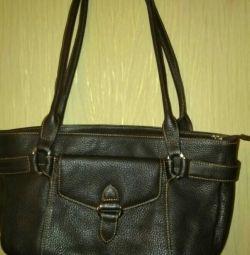 Δερμάτινη τσάντα Tote