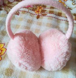 Хутрові навушники