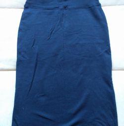 Skirt blue S new