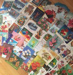 Товари СРСР листівки різні