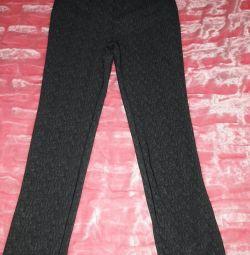 Pantaloni cu talie elastică