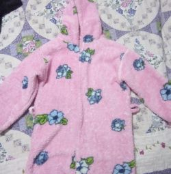 I will sell a terry dressing gown for the girl