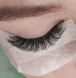 Eyelash extensions, volumes
