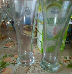 Glasses 2 pieces
