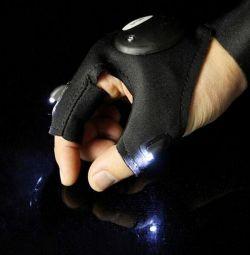 Lanternă pentru mănuși a condus la reparația pescuitului etc