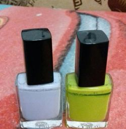 varnishes for nails 2 types for 50 r