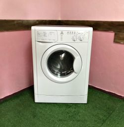 Indesit 5kg washing machine. Warranty, Delivery