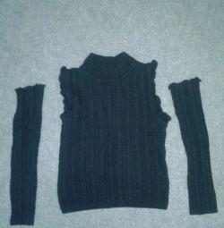 Pulovere pentru copii fără mâneci