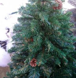 New Year's trees as alive