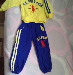 Children's sports suit)