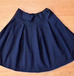 Blue skirt for girls, 32 size