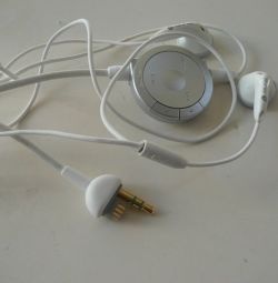 Sony PSP genuine headphones with commands on the cable (play, stop etc) on