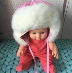 Warm hat for children