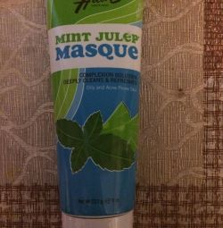 The mask is cleansing, menthol. Iherb.