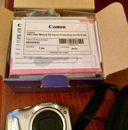Canon camera sx130