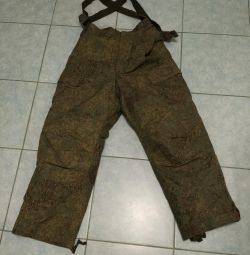 Military winter pants