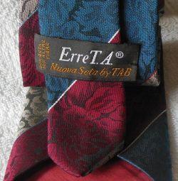 Новый галстук бренд Erre Италия оригинал