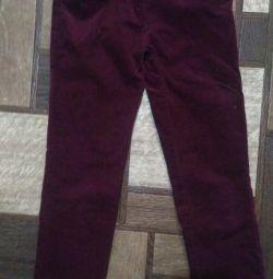 Jeans microvelvet p. 128-134