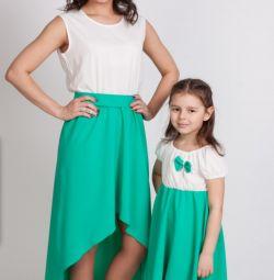 Un set de rochii mama și fiica.