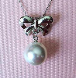 Pandantiv nou cu perle fără lanț