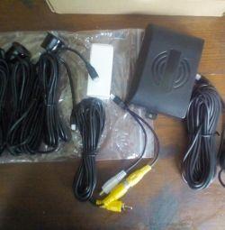 Ekranlı Parktronik 6 sensör