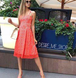 Stylish invoice dress midi