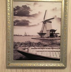 Picture poster framed mill