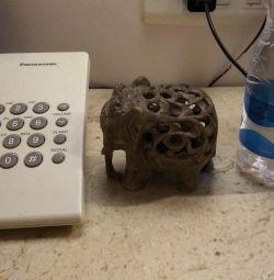 Elefanți indieni din piatră
